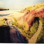 Porthcothan river Oil on Canvas 1m x 1250cm